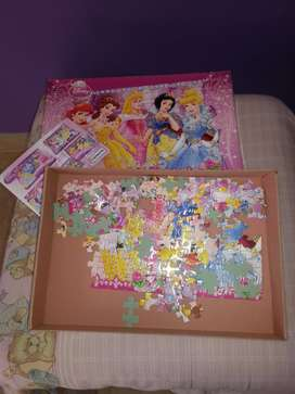 Juego de rompecabezas Princesas de Disney!!
