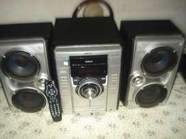 Minicomponente Sony Genezi Hcd Rg270 Poderoso Sonido!!!
