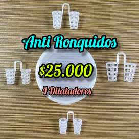 Anti Ronquidos  4 Dilatadores