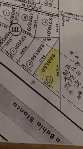 Terreno barrio Mersich 25000 dolares escriturado