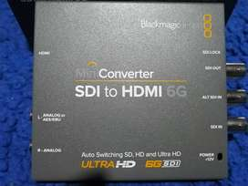 Mini Convertidor SDI a HDMI 6G / Blackmagic Design