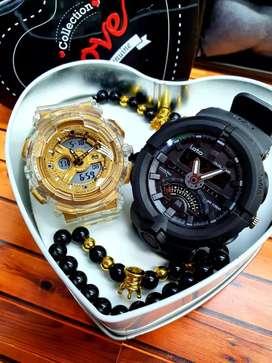Relojes  de pareja deportivos sumergibles