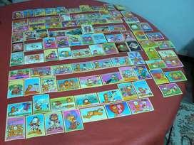 Lote de 94 Trading Cards de Garfield Ultra Figus Supercolección 1997