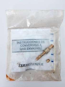Kit Picos Inyectores Conversión a Gas Envasado Termotanque KARLAGEN9 todovendoya