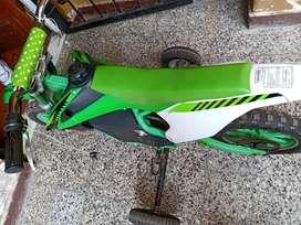 Moto aguanta hasta 110 kilos