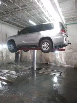 Fabricamos Elevadores para lavaderos carros y motos