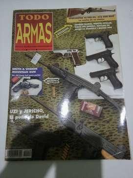 Revista Todo Armas, usada en buen estado, año 1996.
