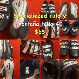 Zapatos specialiezed de montaña o ruta talla 40 estado 10/10