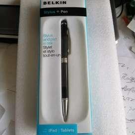 Lápiz Stylus + S Pen. Bolígrafo Capacitivo Belkin Original.