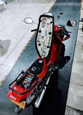 Yamaha cripton 110  modelo 2009 en excelentes condiciones