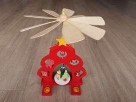 Adorno de Navidad Abanico Giratorio (Carrusel)