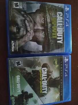 Juegos de PS4 callo of dutty