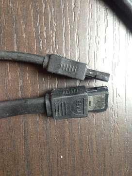 Cable sata serial ATA 26 AWG E189529
