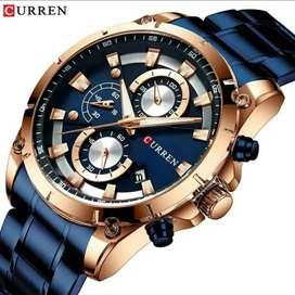 Reloj Curren Deportivo y Elegante, Original, Resistente al agua, Inoxidable, Unique Desing.