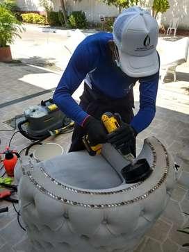 Lavado y desinfección de muebles cartagena