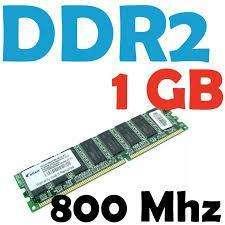 MEMORIA RAM DE PC 1GB DDR2 segunda mano  Perú