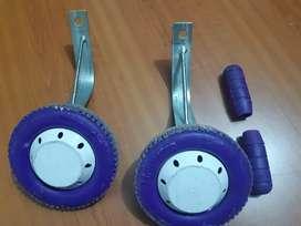 Ruedas de soporte para bicicleta de niños!
