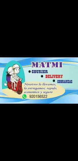 Reparto DELIVERY courier COBRANZAS