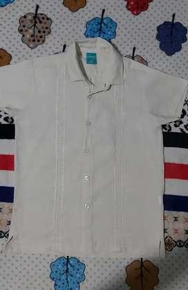 Camisa guayabera niño 10