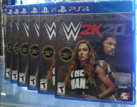 Wwe 2k20 W2k20 Deluxe Edition Ps4 Stock