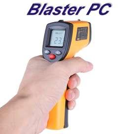 Pistola Termómetro Laser Infrarrojo Zona Alto Rosario BLASTER PC