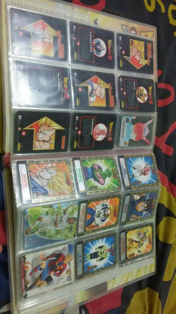 Lamincards Dragon Ball Z 0