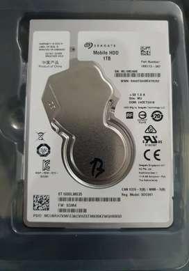Disco duro HDD, para portatil, 1T Marca Segate, en perfecto estado.