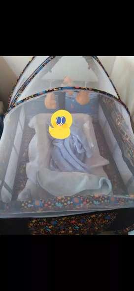 Corral bebé azul 100.000