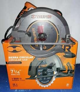 Sierra circular Truper Profesional
