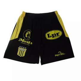 Short Almirante Brown Retiel Negro