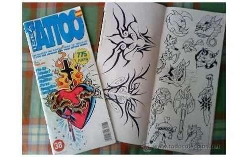 Tatoo Idea Revista Española Tatuajes Diseños B/n 0