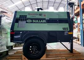 COMPRESORA DE AIRE SULLAIR 185 CFM 2019