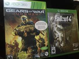 Gears Of War Judgment Y Fallout 4 Xbox