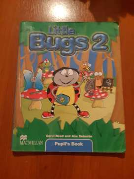 libro litte bugs 2° de carol read and ana  soberon  pupil sbook editorial macmillan