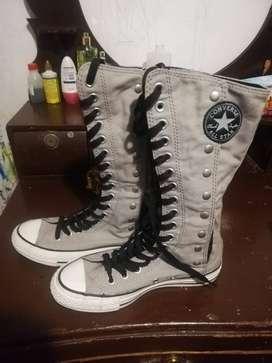 Zapatos converse talla 6 (36) caña alta unisex