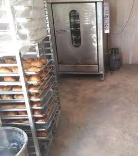 se vende horno para panadería de 12 bandejas