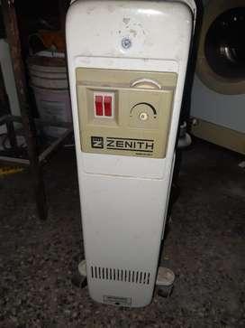 Radiador Electrico en Baño de Aceite