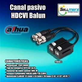 Canal Pasivo Hdcvi Balun