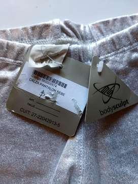 Pantalon Body Sculpt Plateado Un Año