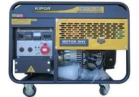 Grupo Electrógeno 9,5 Kva KIPOR KGE12E3 TRIFASICO