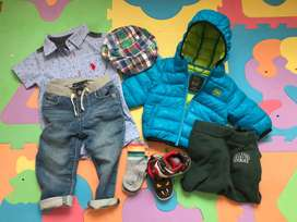 Vendo ropa de USA y Europa (rn hasta 1 ano)