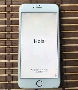 Vendo iPhone 6s Plus como nuevo 3 meses de uso y (sin bandas abiertas)