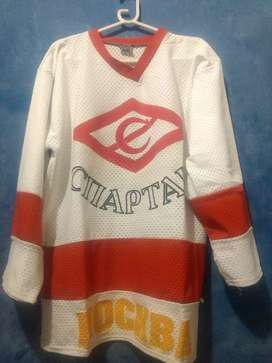 Camiseta Hockey sobre hielo Rusia