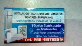 SERVICIO TÉCNICO - INSTALACION