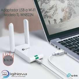 Adaptador USB a WiFi TP-LINK TL-WN822N