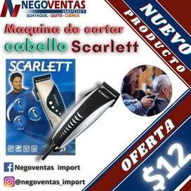 MAQUINA DE CORTAR CABELLO SCARLETT