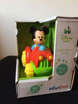 Juguete  de estimulacion Tractor Mickey Disney