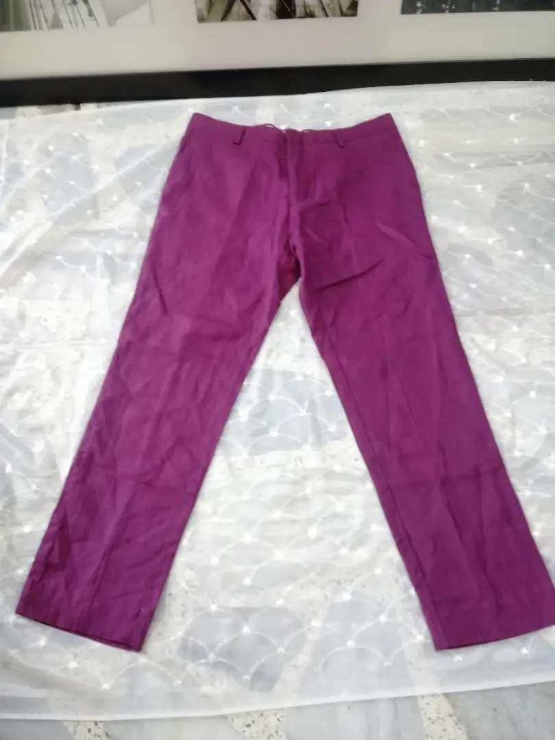 Pantalón serio de dama marca F.nebuloni talla 34