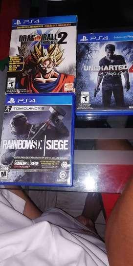 Se cambian estos juegos