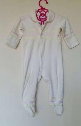 Enterito pijama body beba algodon toalla